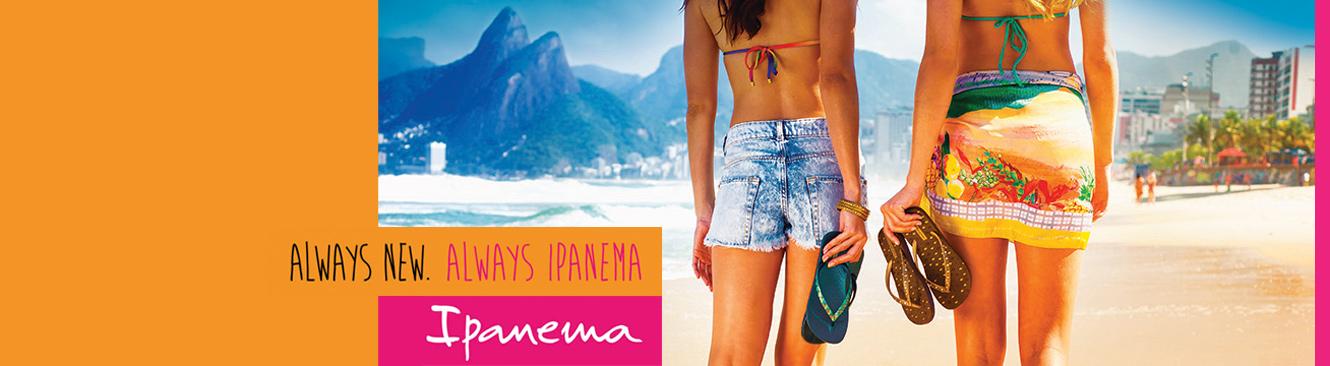 Ipanema flip flops and sandals
