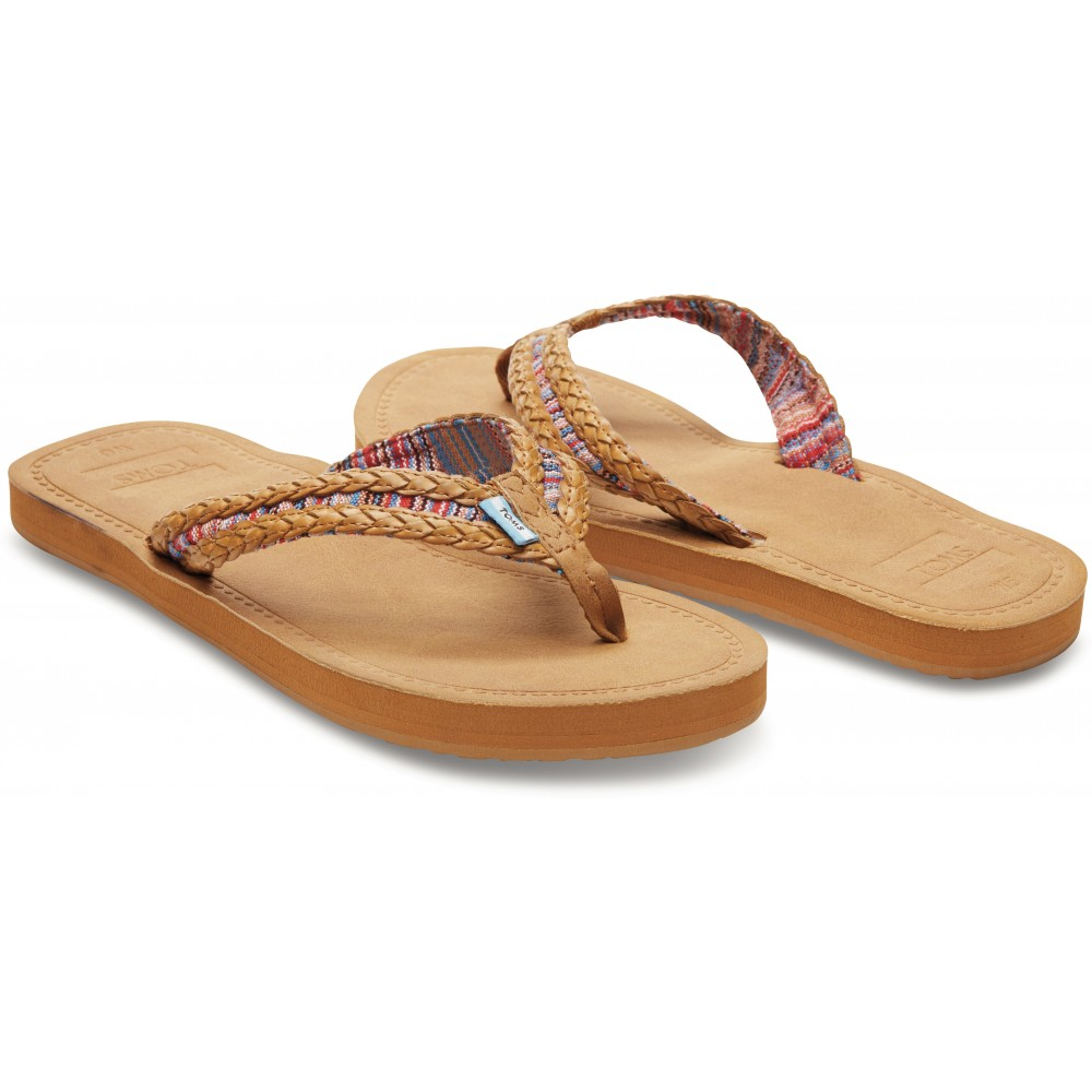 Womens Shearling Flip Flop Slippers  Division Of Global -3215