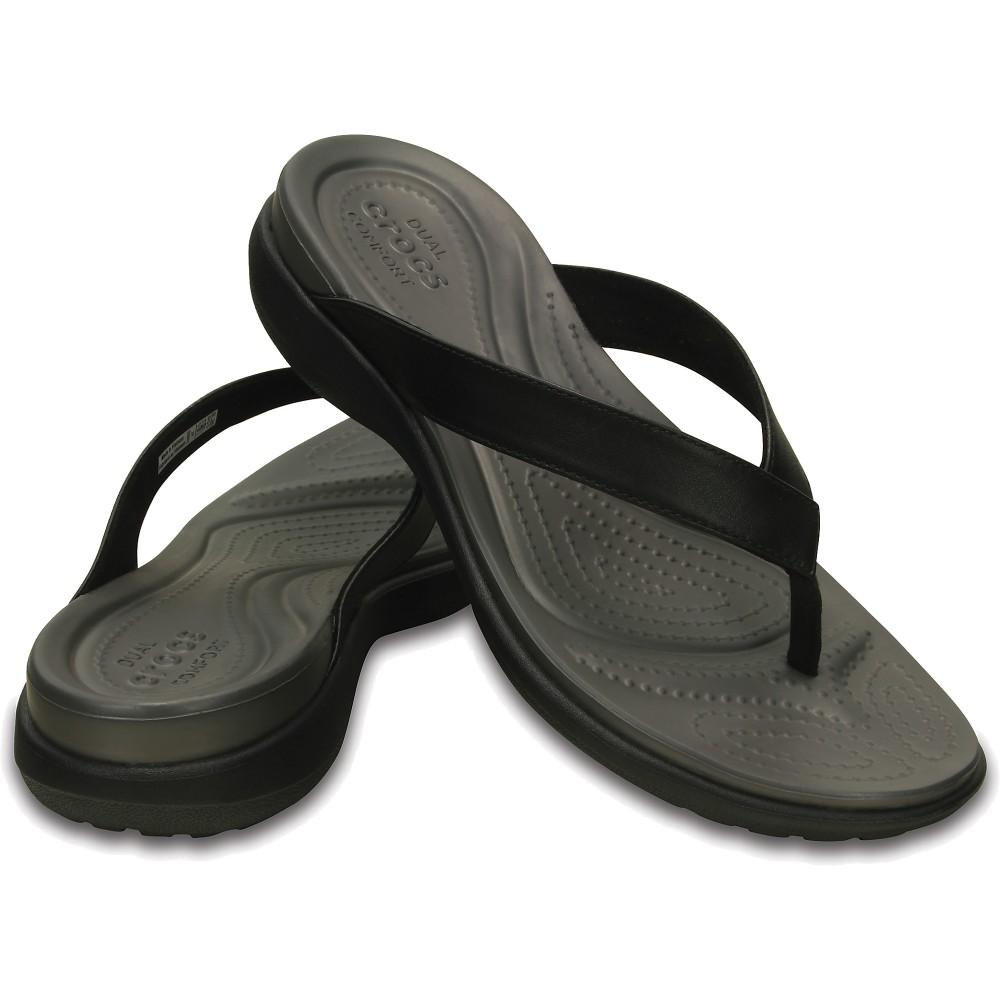 crocs capri flip women 39 s flip flops. Black Bedroom Furniture Sets. Home Design Ideas